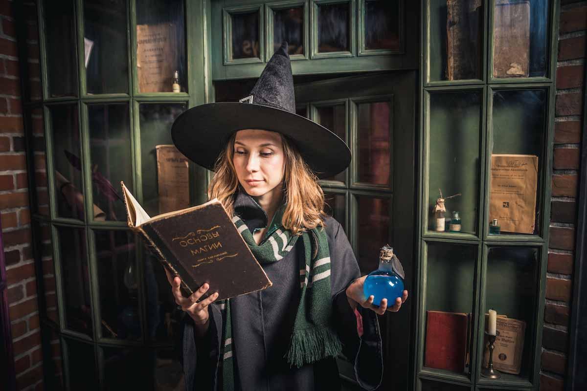 нас можете картинки магия волшебство поттериана женщина уже